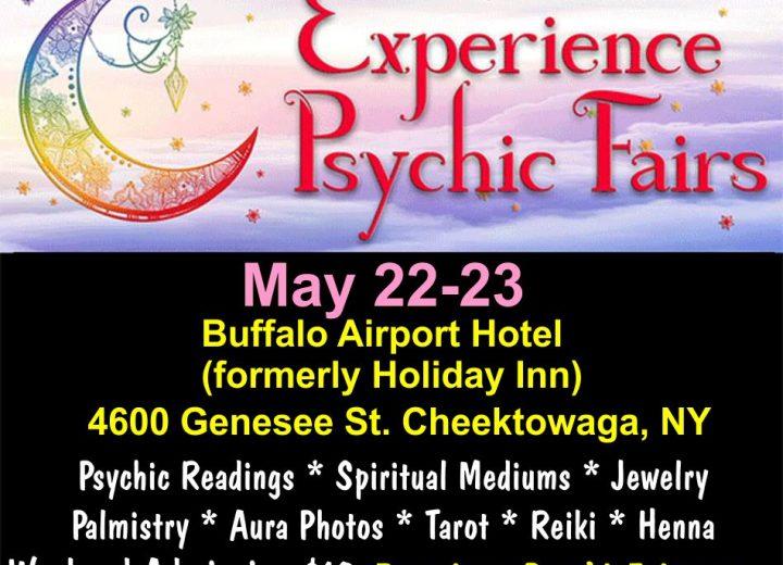 Psychic Fairs at the Buffalo Airport Hotel